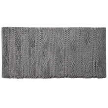 Chenille Soft Loop Oversize Bath Rug Solid and Stripe Pattern