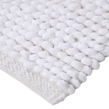 Oversized handmade cotton Micro Chenille loop bath rug -22-inch X 60-inch, 65% polyester and 35% cotton super absorbent bath rug