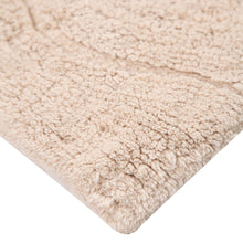 Ultra-Luxurious 100% cotton, eco-friendly, bathroom rugs non slip backed with slip-resistant latex