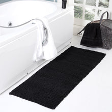 Braided Chenille Oversized Bath Rug