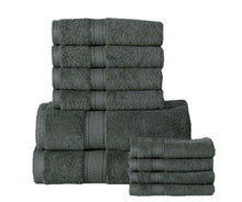 Soft and Luxurious Cotton 600 GSM 10-piece Towel Set