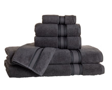6 Piece Super Soft Zero Twist Cotton Towel Set