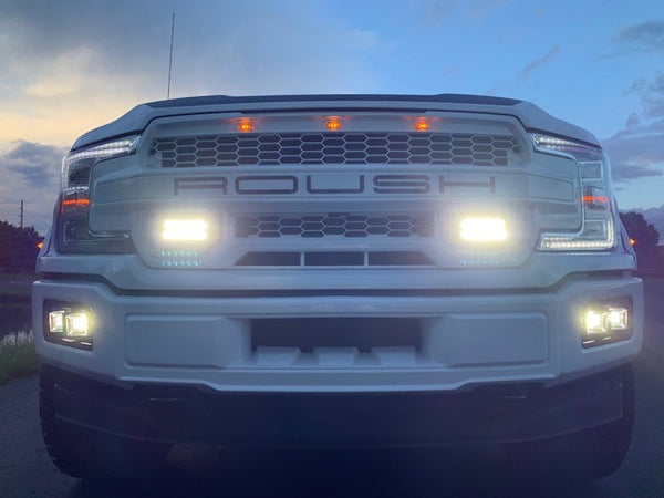 fog lights on truck