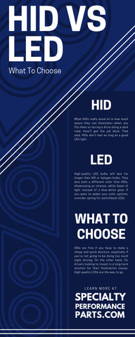 HID Versus LED: What To Choose