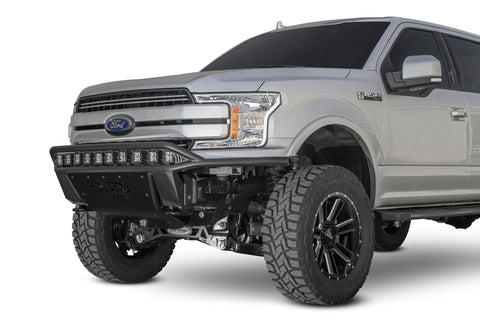 Addictive Desert Designs 2018 - 2019 Ford F-150 Lite Front Bumper w/ Top Hoop