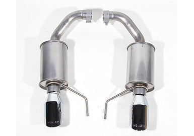 2015-2020 MUSTANG 3.7L V6 AND 2.3L ECOBOOST ROUSH EXHAUST KIT - ROUND TIP (304SS) Part #421837