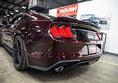 2015-2020 MUSTANG 3.7L V6 AND 2.3L ECOBOOST ROUSH EXHAUST KIT - ROUND TIP (304SS)