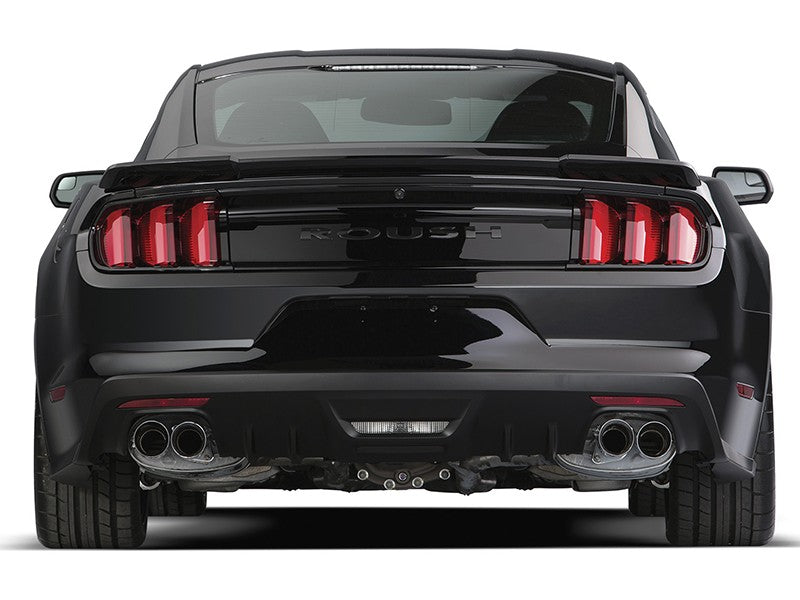 2015-2017 MUSTANG 5.0L ROUSH V8 EXHAUST KIT - ROUND TIP (304SS)