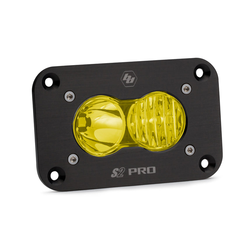 Baja Designs S2 Pro LED Lights (FLUSH) Pods (Sold in Singles)