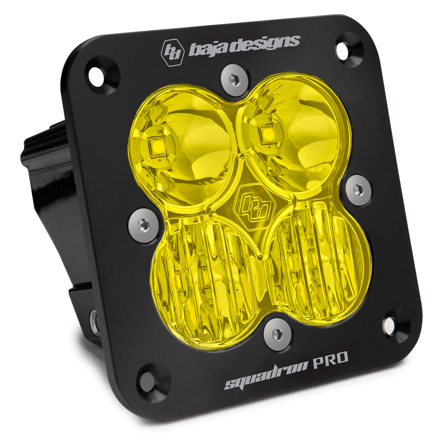 Baja Designs Squadron Pro LED (FLUSH MOUNT) Pods (Sold in Singles)