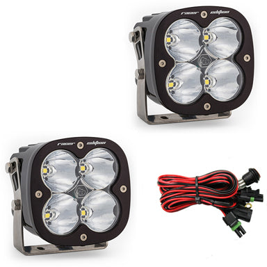 Baja Designs XL Racer Edition LED Light - Pair with harness
