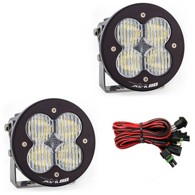 Baja Designs XL-R80 Series Pod Light Pair Driving Combo in White