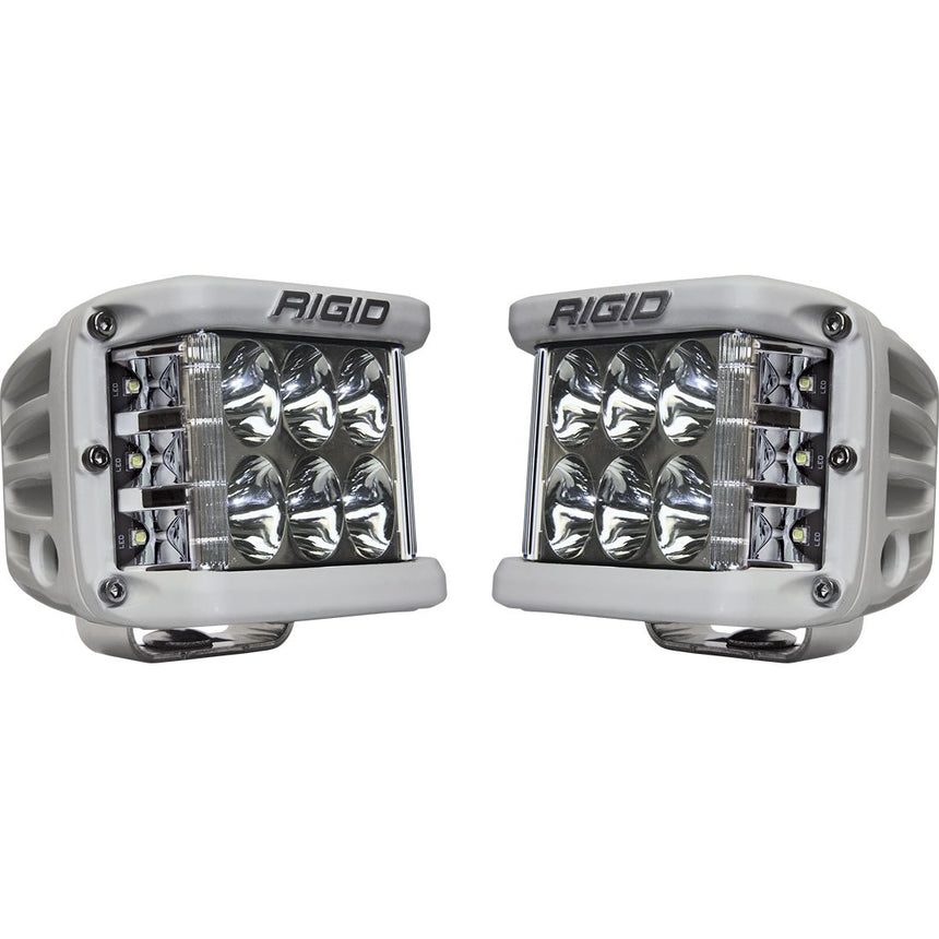 Rigid Pro White Sideshooter Pair # 862313
