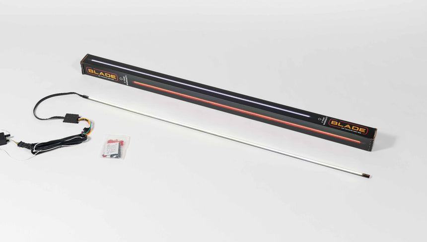 PUTCO Blade LED Light Bars (18''-60'') Red & White or Red & Amber