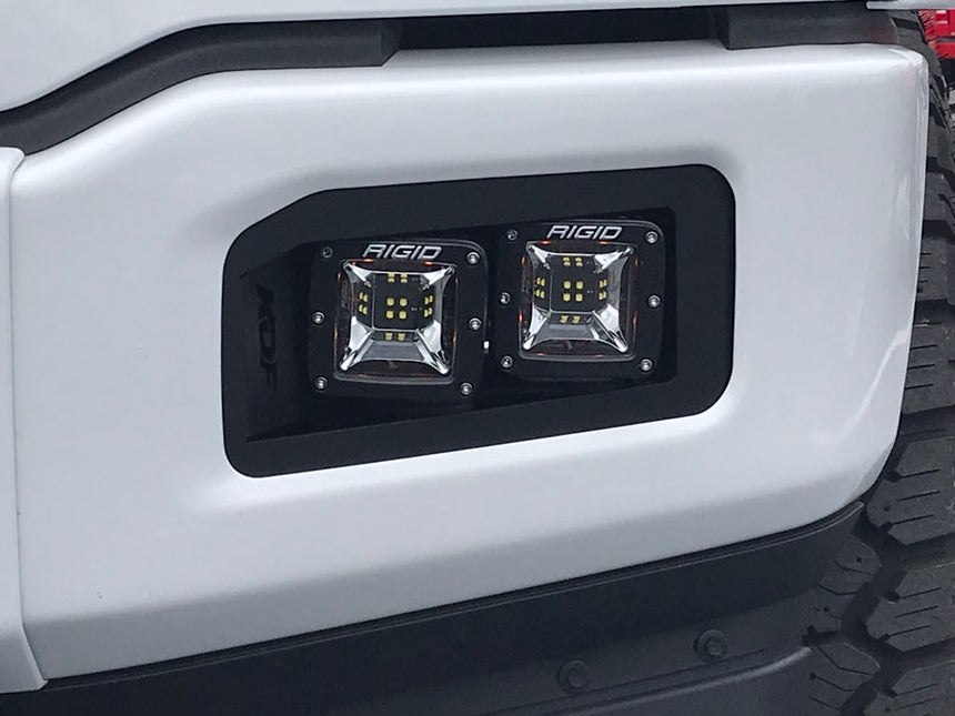 SPV Parts PREMIUM 2017-2020 Raptor Fog BRACKETS Version 3 (Brackets ONLY. Lights sold separately)