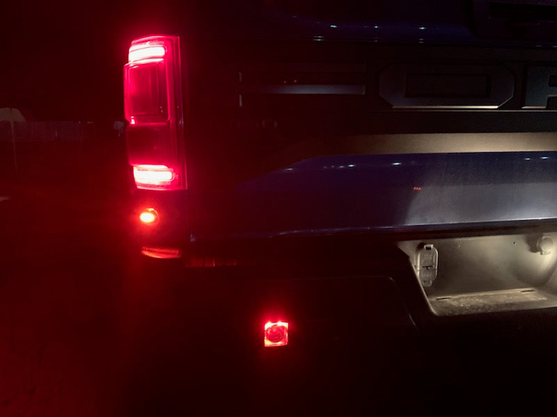 OPEN BOX DEAL! - 2017-2020 Ford Raptor RED Radiance SCENE Reverse Kit