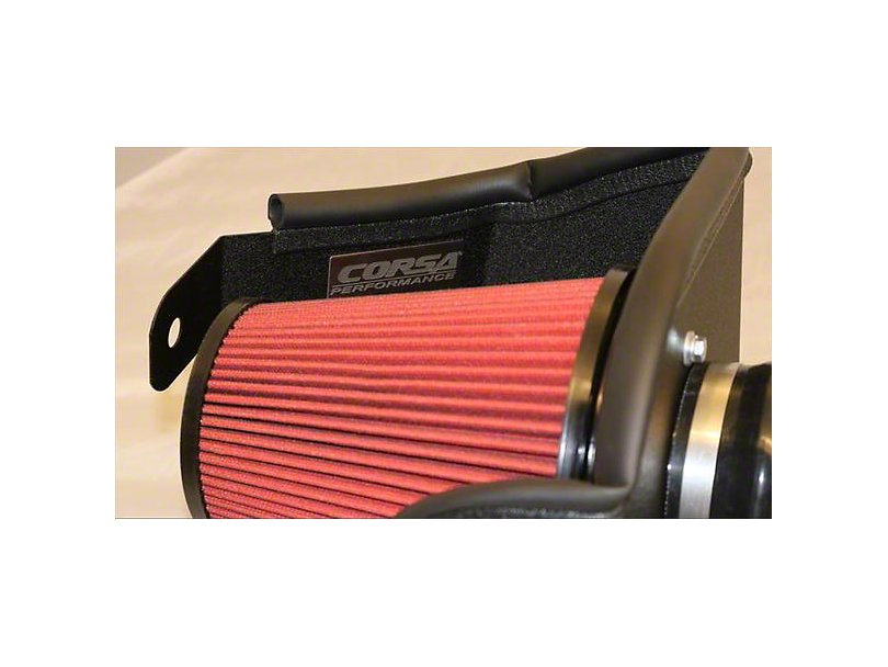2015-2019 F-150 V8 Cold Air Intake By Corsa with red filter
