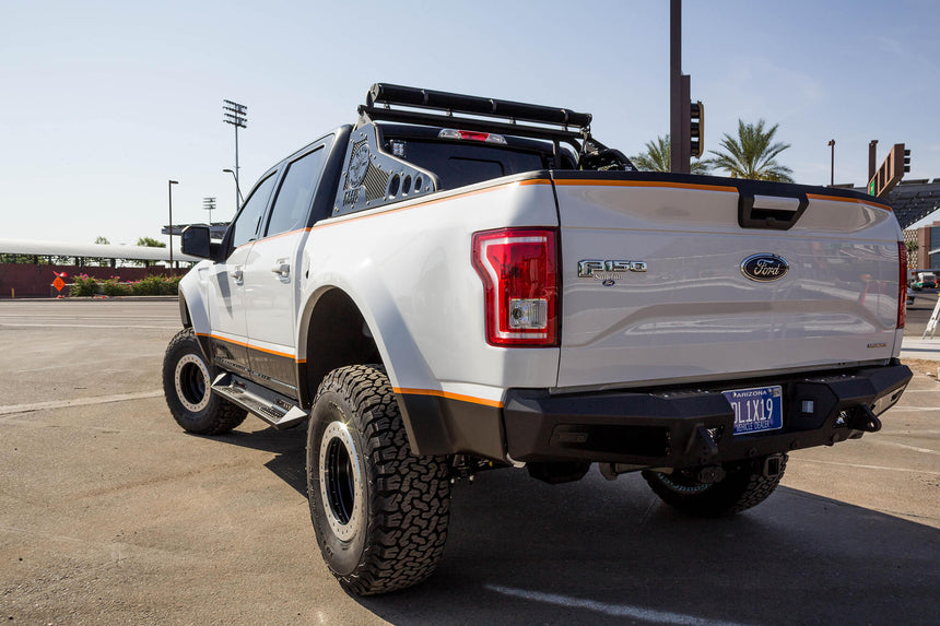 Addictive Desert Designs 2015 - 2020 Ford F-150 HoneyBadger Rear Bumper