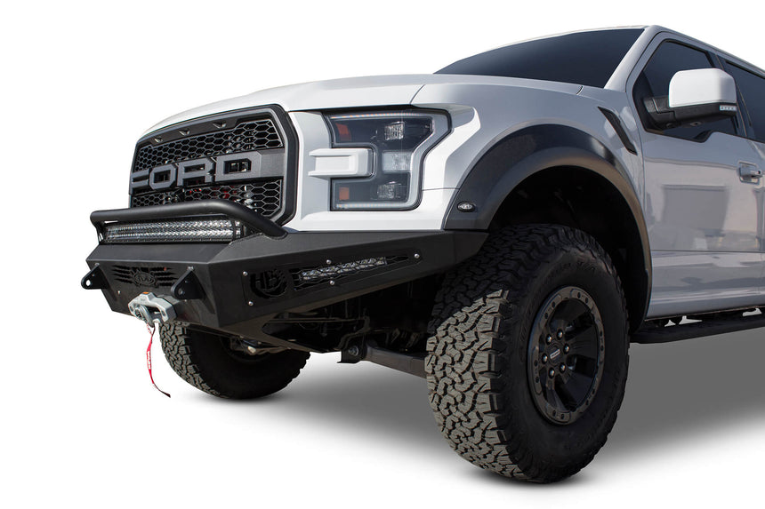 Addictive Desert Designs 2017-2020 Ford Raptor HoneyBadger Winch Front Bumper