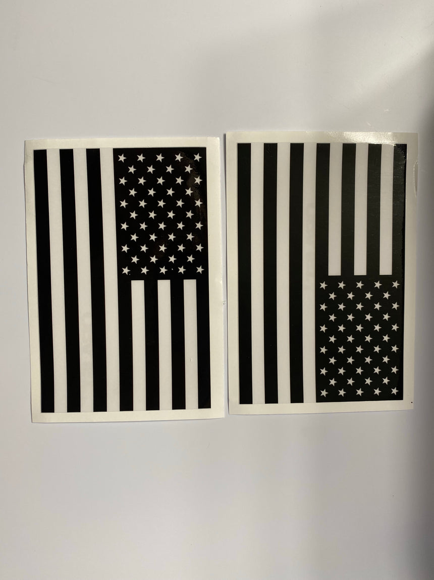 American Flag Vehicle Graphics Left & Right (assorted)