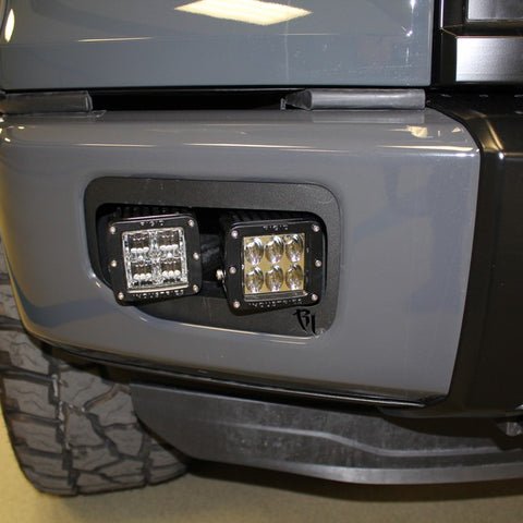 2015-2017 F-150 Dual LED Fog Kit on a Gray F-150 sold by specialty performance vehicles llc