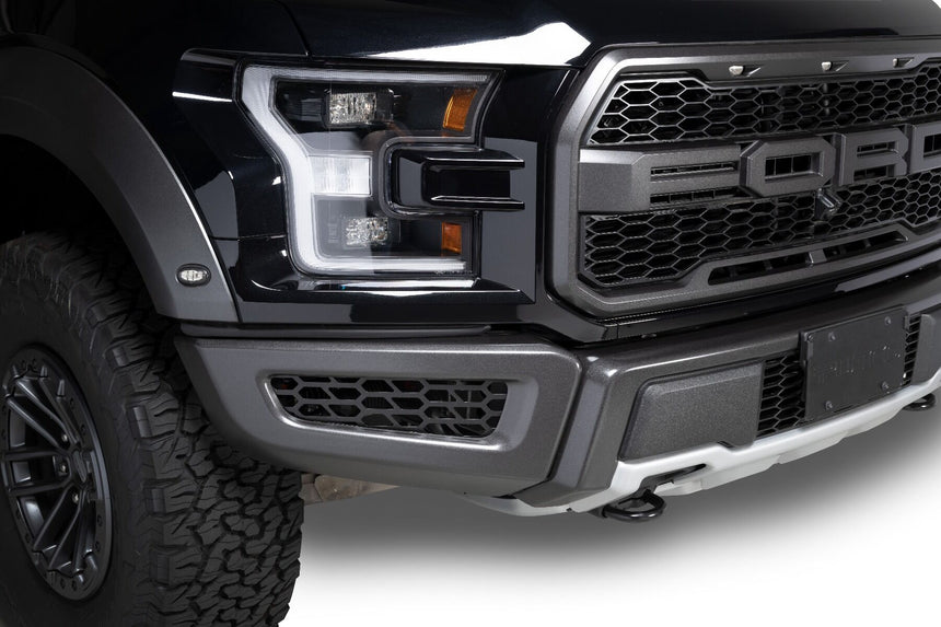 Putco Bumper Grille Inserts Hex-Shield Style 2018-2020 Ford Raptor