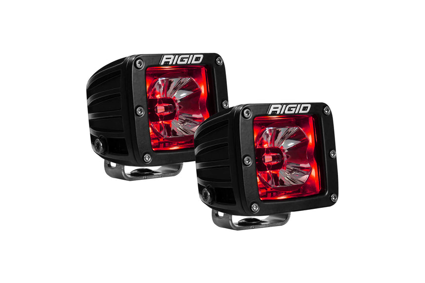 RIGID RADIANCE PODS ALL COLORS SHOWN AMBER, RED, BLUE, WHITE, GREEN