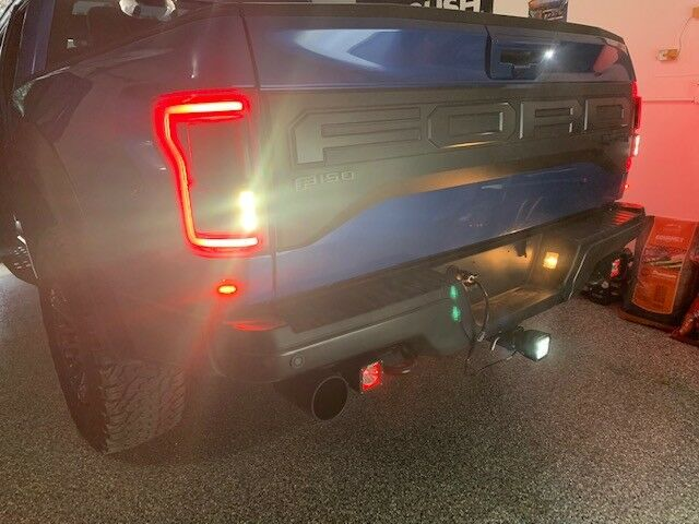 SPV Custom Universal Hitch light mounted in the hitch receiver