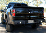 2015-2019 F-150 Rear IN-Bumper Reverse Light Kit on a black F-150 sold by specialty performance vehicles llc