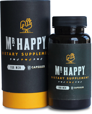 Mr. Happy 60 Capsule Bottle