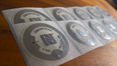SMARTRAC NTAG213 - Transparent PET Stickers x30