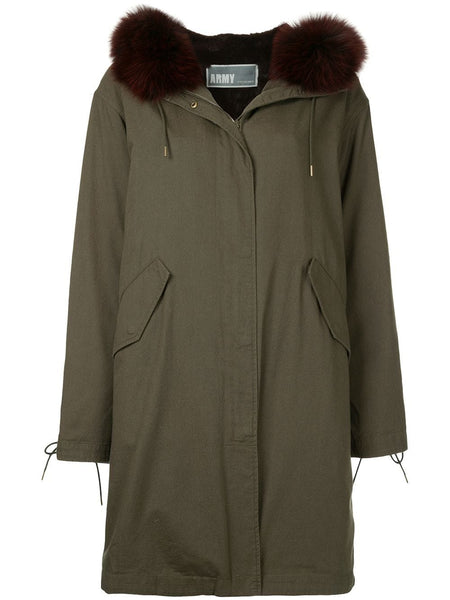 PARKA 94CM COTTON RABBIT