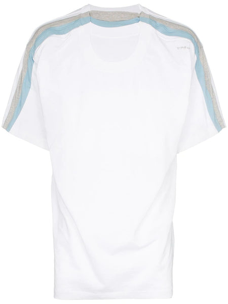 FOUR LAYER T-SHIRT TO-WHITE