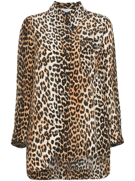 LEOPARD PRINTED SHIRT