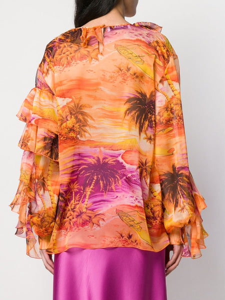 WOMAN'S BLUSA 10 BLOUSE