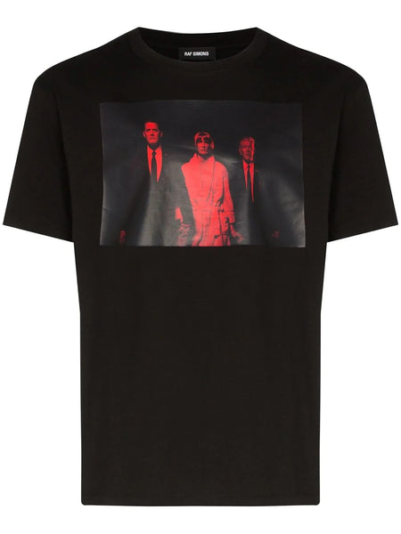 SLIM FIT T-SHIRT TWIN PEAKS RED