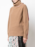 COLOR COMBO KNIT PULLOVER
