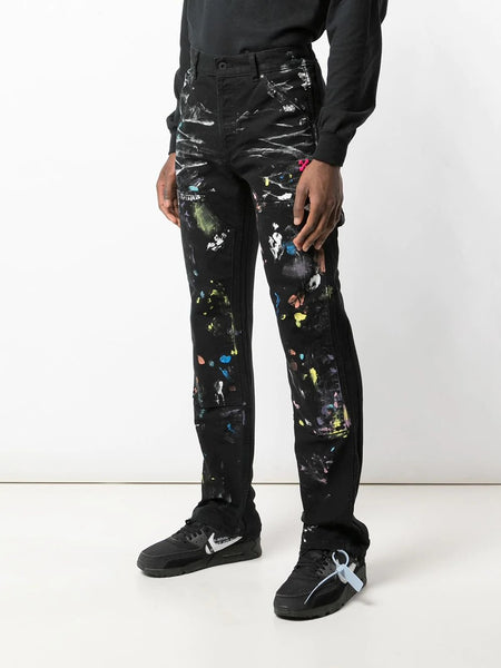 painted carpenter jeans