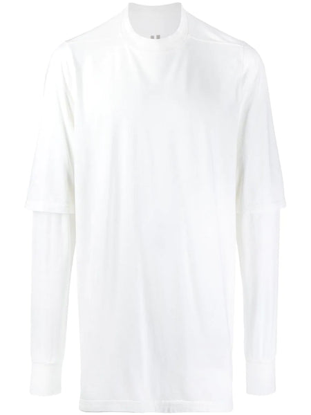 MILK WHITE COTTON JUMBO T-SHIRT