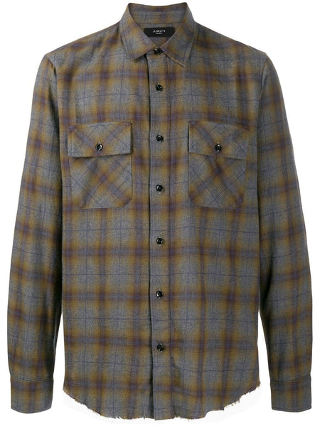 AMIRI FLANNEL SHIRT