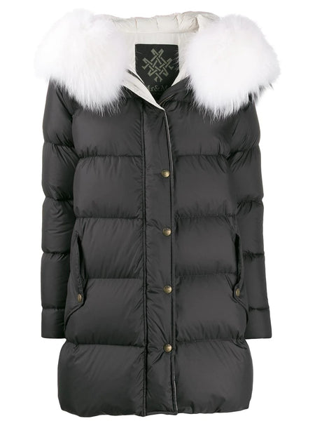 STRAIGHT FIT PUFFER COAT