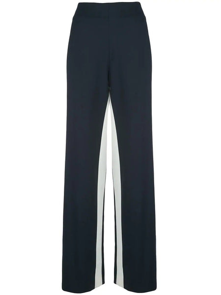 DOUBLE STRIPE GABARDINE WOOL PANT