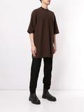 SHORT WIDE SLEEVE T-SHIRT