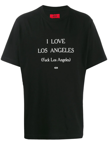 I LOVE LOS ANGELES SS-TEE BLACK