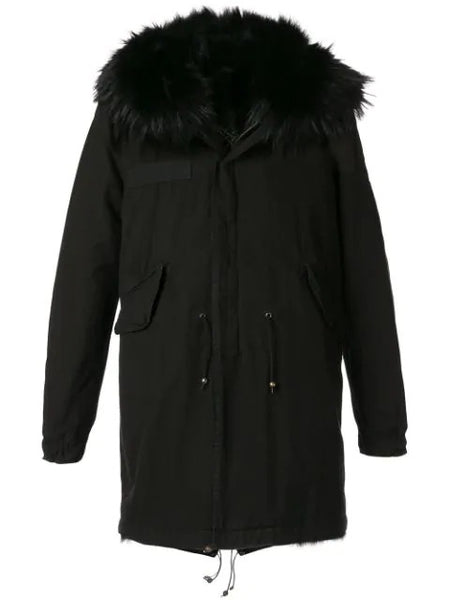 ARMY PARKA WITH COYOTE FUR LINING