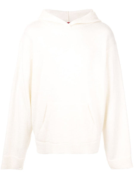 MOHAIR PULLOVER HOODIE