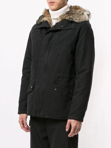 PARKA 77CM COTTON FOX