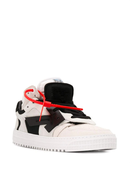 OFF COURT BIGE LOW TOP SNEAKERS