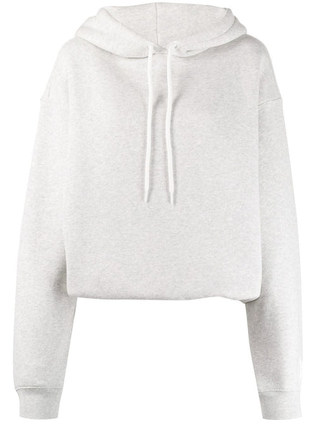 DENSE OVERSIZED KNITTED HOODIE CUT AND SEW GREY