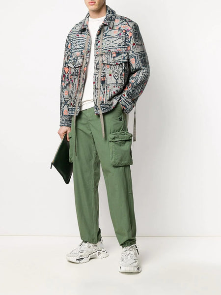 TIE-DYED RIPSTOP CARGO PANT